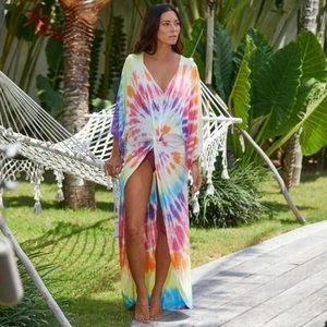 NEW🌸SURF GYPSY Tie Dye Duster Coverup